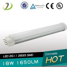 UL Listed 2G11 4PIN Led Tube
