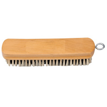 19.5*5*1.5CM Eco-Friendly Good Quality Customized Wooden Shoe Cleaner Brush