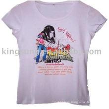 T-shirt de transferencia de calor de impresión
