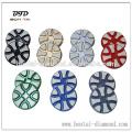 """3 """"almohadillas de alta eficiencia para moler y pulir pisos de hormigón desigual y superficiales arañazos"""