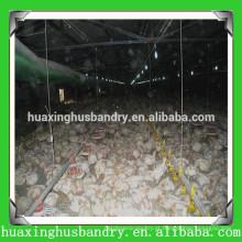 Construção da construção da fazenda da casa do frango projeto do galpão de aves de capoeira