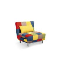 Canapé pliant moderne en tissu assise