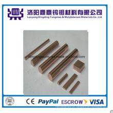 Tungstênio de alta qualidade (WCu) haste de Luoyang fabricante de cobre