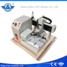 3D Mini CNC Router madeira com cilindro eixo 4 eixos Cnc máquina de ampla aplicação