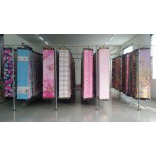 Горячие Продажа ткани 50% хлопок 50% полиэстер cvc ткани печати