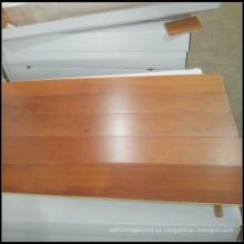 Revestimento de madeira projetado Merbau da cor natural
