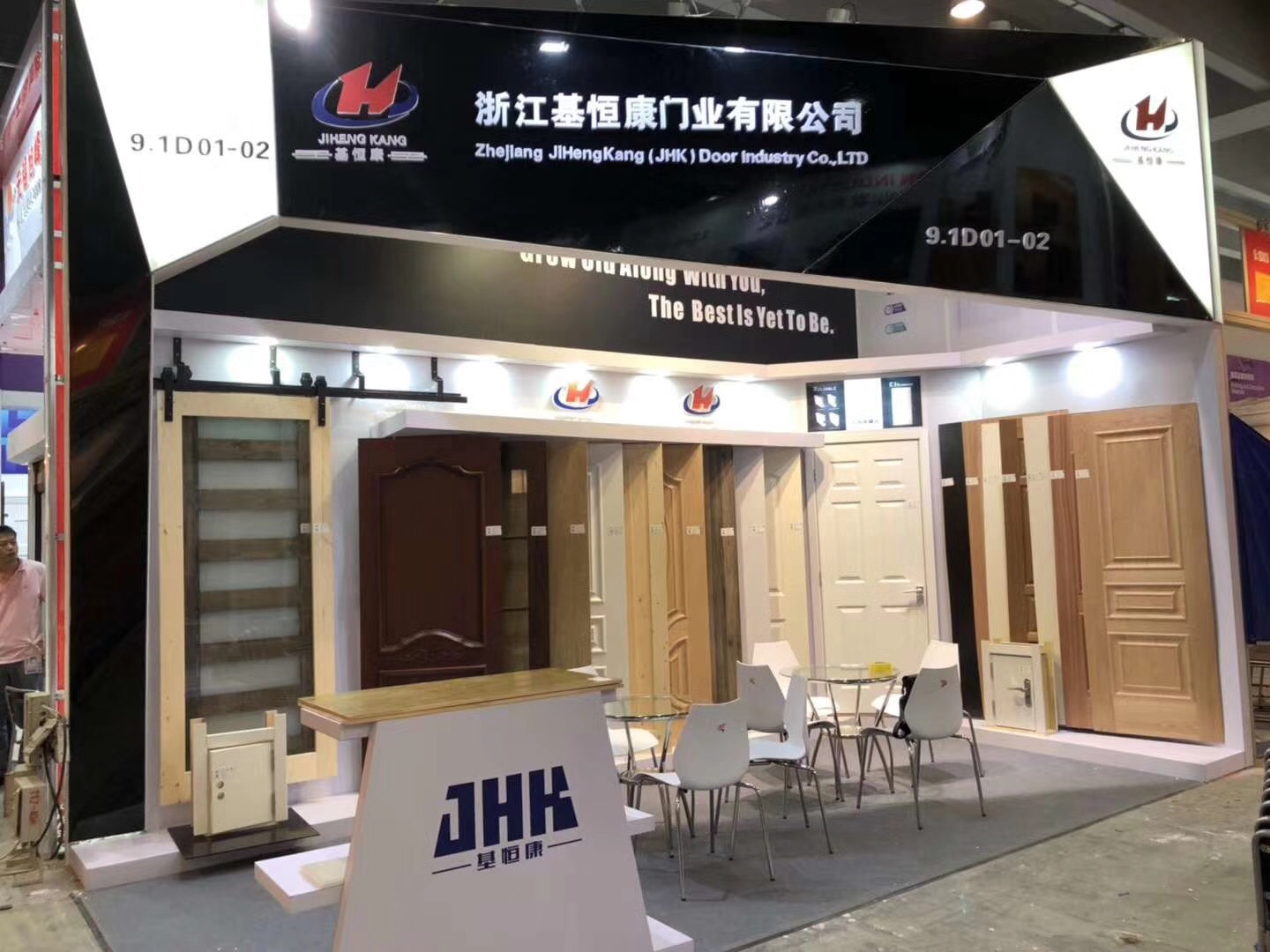 JHK booth
