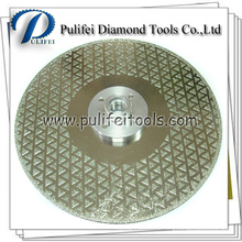 Diamond Coated Marble Cutting Grinding Electroplated Saw Blade