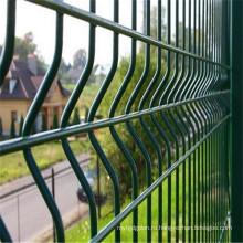 Зеленый 3D сетка Заборная панели