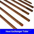 Tube ondulé cuivre-nickel (C44300, C70600, C71500)