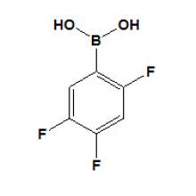 Ácido 2, 4, 5 - trifluorofenilborónico Nº CAS 247564 - 72 - 3