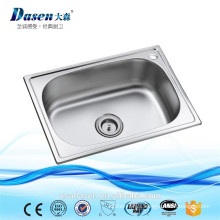 DS 4835 China Supplier Stain Finish Stainless 304 Single Small Size Bowl Kitchen Sink