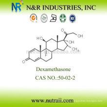 Alta Pureza Hormona esteroide Dexametasona en polvo