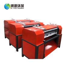 Triturador e separador de alumínio de cobre do radiador