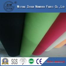 Tecido não tecido PP Spunbond de bolsas de compras Marhe (verde e branco)