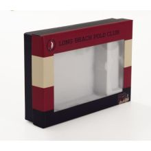 Luxury Paper Craft Gift Window Box for Cosmetic