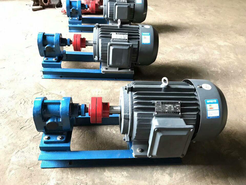 horizontal oil pump