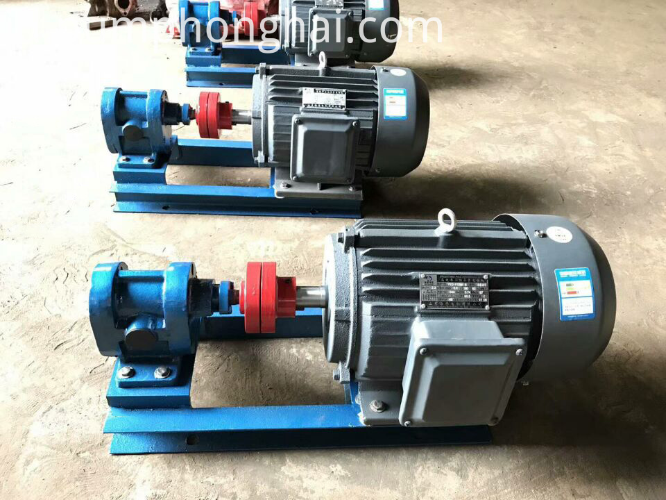 horizontal oil pump