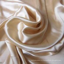 Шелка Шармёз ткани с окраска отделка