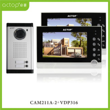 7 polegadas Color 2 Family Video Intercom