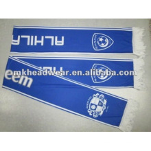 100% полиэфирная печать футбольный шарф