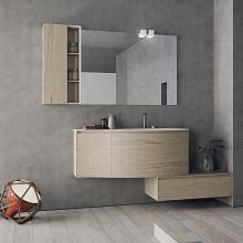 Solide Schrank Badezimmer Eitelkeiten Wandbehang