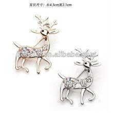 Nuevo estilo Deer en forma de pin broche