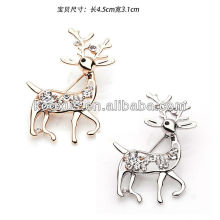 New style Deer shaped brooch pin