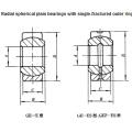 Radial Spherical Plain Bearing Ge120es Ge120es2RS Ge140es Ge140es2RS Ge160es Ge160es2RS