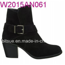 Square Toe 2015 produits Chaussures à talons rugueux