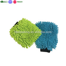 Microfiber Magik Mitt, Mobile Car Washing Chenille Fabric mitt