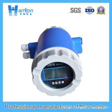 Débitmètre électromagnétique en acier au carbone bleu Ht-0268