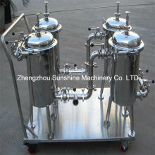 Vegetable Oil Filter Machine Sunflower Oil Bag Filter
