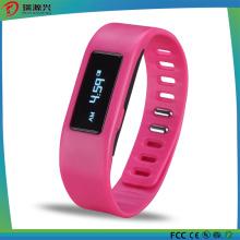Pulseira sem fio impermeável esperto do sono da atividade de Bluetooth / braceletes