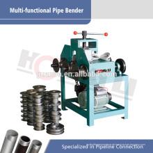 Hydraulische Edelstahl-Rohrbiegemaschine HHW-G76 für quadratisches Rohr