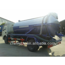 perfect performance 4cbm sewage pump truck Dongfeng sewage sucking truck