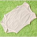 Soft Organic Cotton Baby Sleeveless Romper