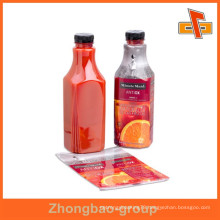 customize heat pvc shrink sleeve label for pipes/bottle