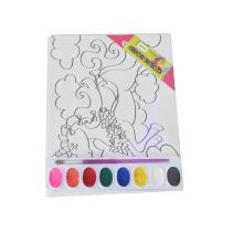 Painel de pintura de lona magnética infantil