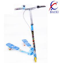 Patinete de skate para crianças / crianças com roda piscando (bx-ws001)