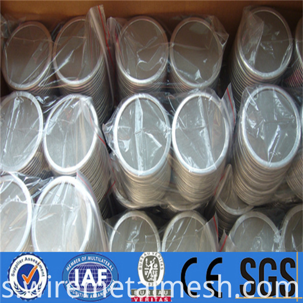 High flowing stainless steel filter disc for liquid filtration (29)
