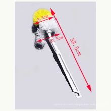 Plastic toilet brush with bowl long handle