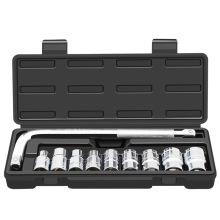 Conjunto de ferramentas de troca de pneus de carro