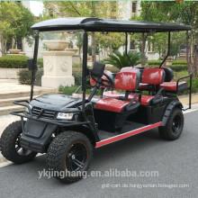 Großverkauf der Fabrik weg von der Straße Gasenergie oder elektrischer Golfwagen-Rücksitz, der mit CER faltet