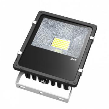 10W 20W 30W 50W 80W 100W LED Floodlight Solar Aluminio 50W AC 24V