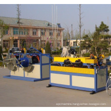 Best Selling PE/PVC Single Wall Corrugated Pipe Production Line