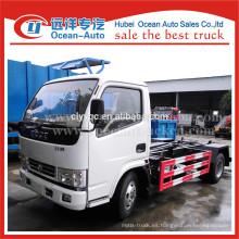 DongFeng nuevas dimensiones más pequeñas camiones de basura
