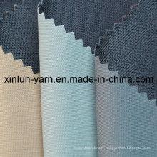Tissu de pongee collé en sergé polyester pour vêtement