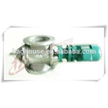 Vanne rotative Cheegers et soupape de décharge pour la manipulation des haricots