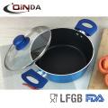 Nouveau pot de casserole forgé indien